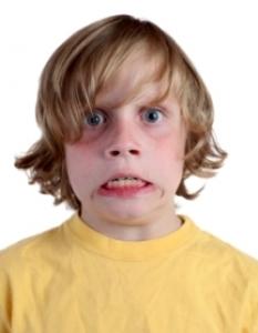 Nervous child